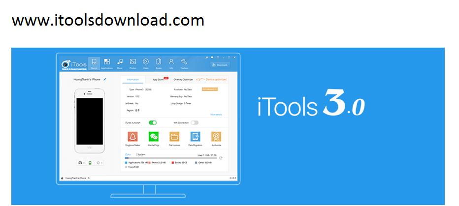 free iTools 3
