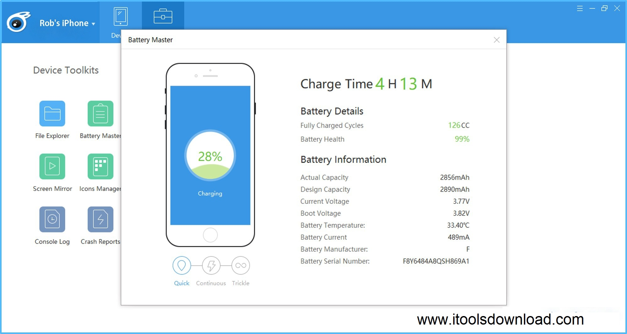 iTools x free download